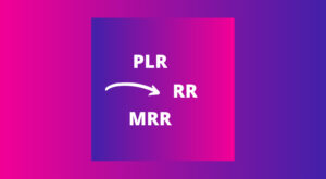 Difference Between PLR, RR and MRR